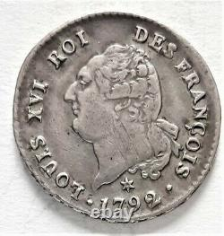 Très rare Révolution LOUIS XVI 30 SOLS 1792 Pau AN 4 1er semestre 9,83 g