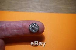 Très rare denier cenoman en argent tête à gauche