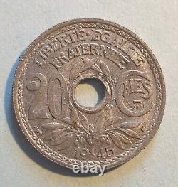 Très rare et superbe essai 20 Centimes 1945