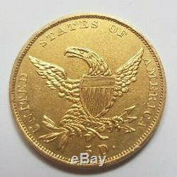 Très rare et superbe pièce de 5 dollars or 1835 Liberty Philadelphia