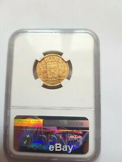 Très rare et très belle 20 francs or 1829 A Charles X NGC AU 53