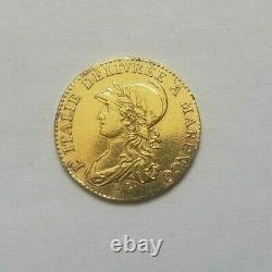 Très rare et très belle pièce de 20 francs or an 10 Marengo Turin