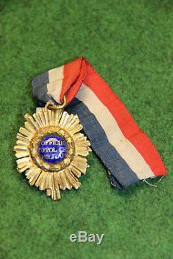 Tres rare insigne d officier de police militaire epoque revolutionnaire
