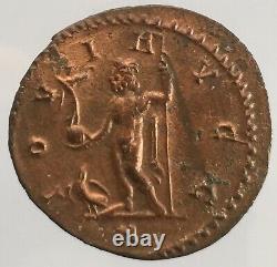W1 Monnaie Romaine Tres Rare Aurelianus De Maximien Hercule Roman Coins
